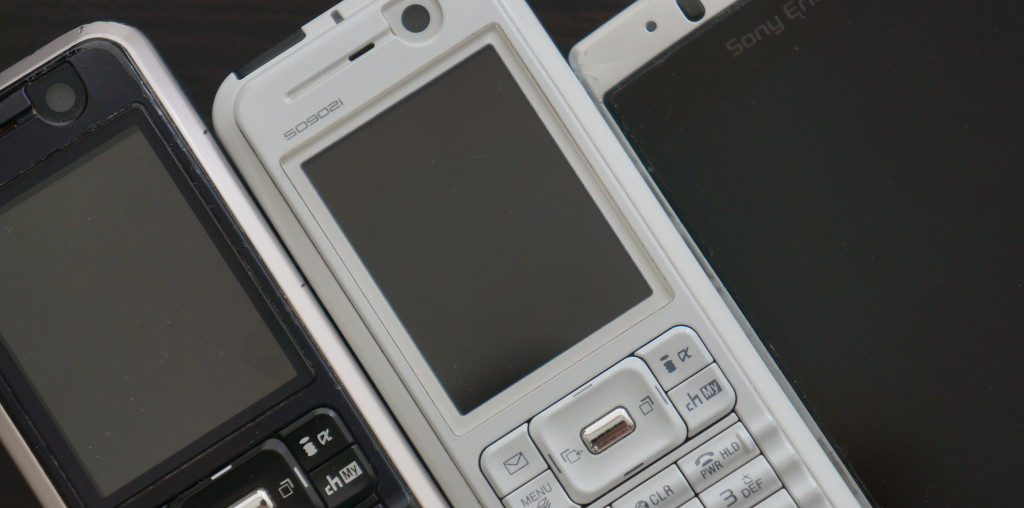 不要になった携帯電話・スマートフォン