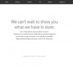Appleの画面