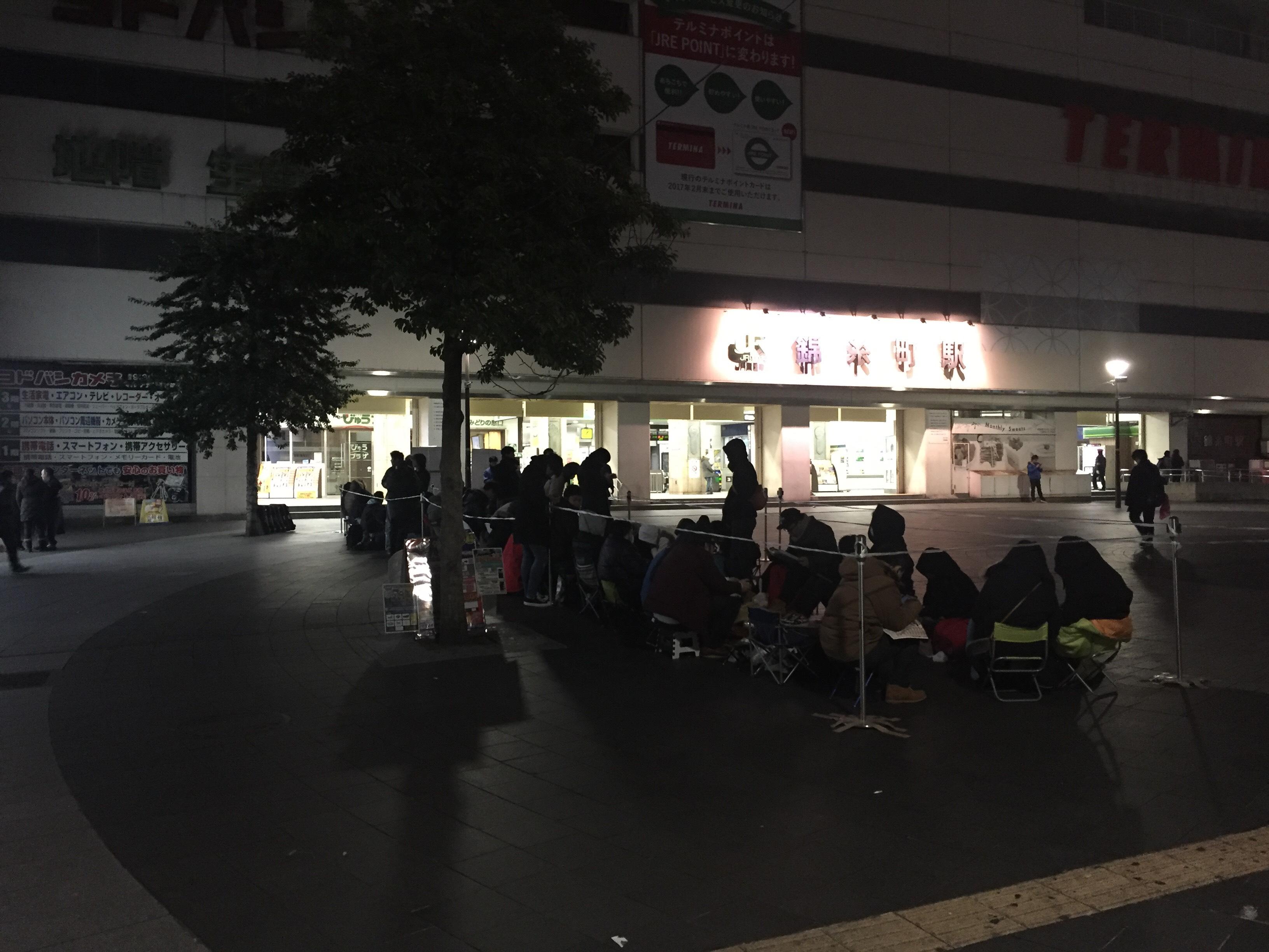 ヨドバシ錦糸町福袋行列