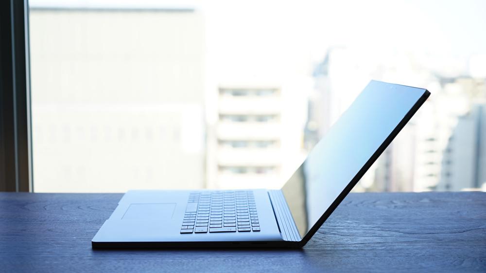 SurfaceBook2の開閉
